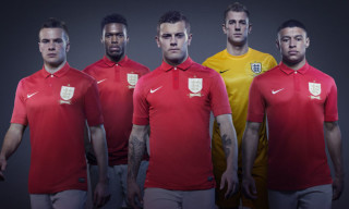 Nike Unveils 2013 England Away Kit