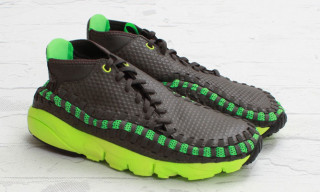 Nike Footscape Woven Chukka Mid Gog/Poison Green