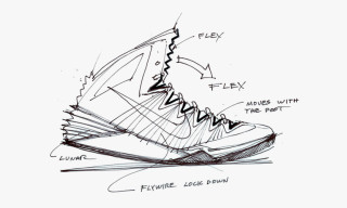 Nike Provides Inside Access into Design Sketches of its Hyperdunk 2013