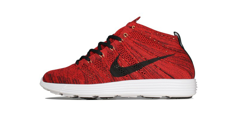 check out 50115 e197f cheap Nike Lunar Flyknit Chukka University Red Highsnobiety