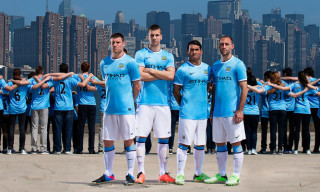 Nike Unveils First Manchester City Home Kit