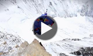 World's Highest BASE Jump – Flying from Mt. Everest