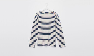 TWOTHIRDS x Saint James Striped Breton Shirt