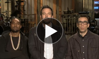 Watch the New 'Saturday Night Live' Promo featuring Kanye West & Ben Affleck