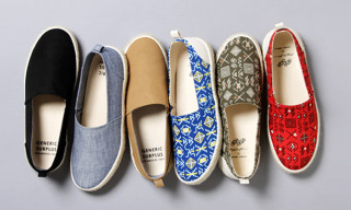 Generic Surplus x Steven Harrington Spring/Summer 2013 Slip-Ons