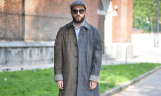 Street Style: Stefano Innocenti in visvim, Chanel, Supreme, Maison Martin Margiela with H&M