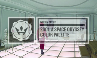The Weekly Outfit: '2001: A Space Odyssey' Color Palette