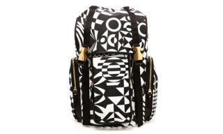 Versus Geometric Print Backpack