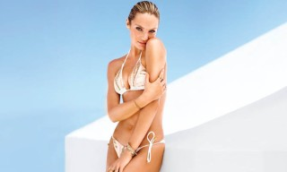 "Victoria's Secret's Candice Swanepoel, Erin Heatherton and Magdalena Frackowiack Star in ""Island Hopping"" Catalog"