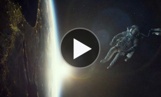 Watch the Official Teaser Trailer for 'Gravity' Starring Sandra Bullock and George Clooney