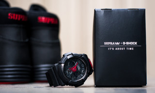 Win an Exclusive SUPRA x G-Shock Watch and Sneaker Pack