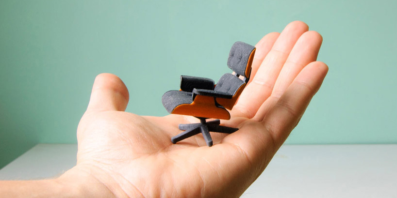 3D Printed Eames Lounge Chair by Kevin Spencer Highsnobiety