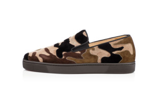 "Christian Louboutin ""Para Flat"" Camouflage Loafer"