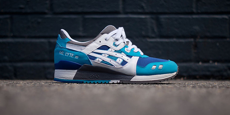 ASICS Gel Lyte III Blue White KITH Exclusive • Highsnobiety fd71fdc89