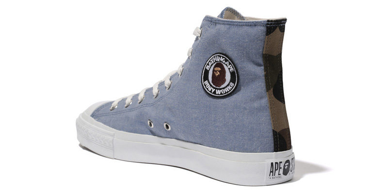 converse x a bathing ape