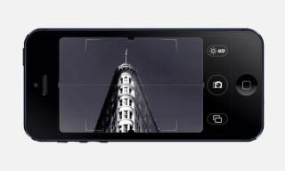Camera Noir Black and White iPhone App
