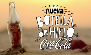 Coca-Cola Introduces Bottle Made from Ice