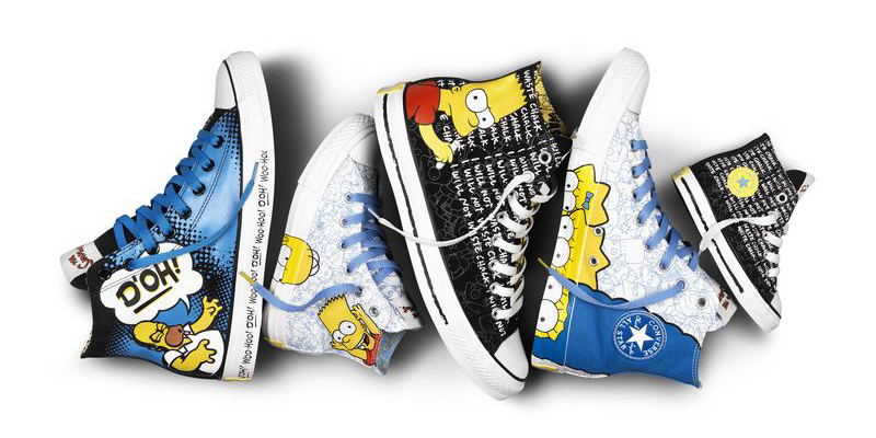 well-wreapped Converse x The SimpsonsFootwear Collection Highsnobiety a63059d97