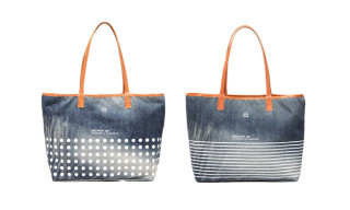 fragment design x VANQUISH Denim Tote Bags