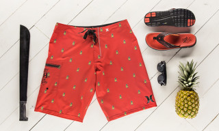 Hurley x KICKS/HI Limited Edition Phantom Shorts & Free Sandals