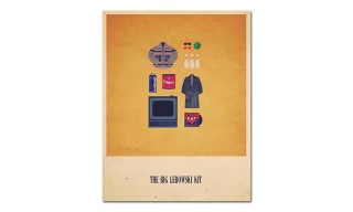 Illustrated Hipster Kits Based on Famous Movies and Television Shows