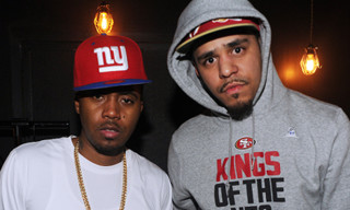 "Listen to J. Cole's Remix for ""Let Nas Down"" featuring Nas"