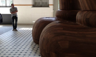 KAWS Teases Massive Wooden Sculpture