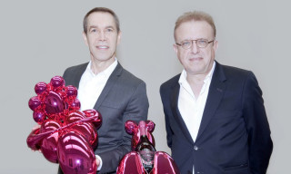 Jeff Koons Teams Up with Dom Pérignon