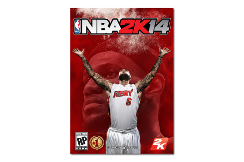 LeBron James Gets First Video Game Cover with NBA 2K14