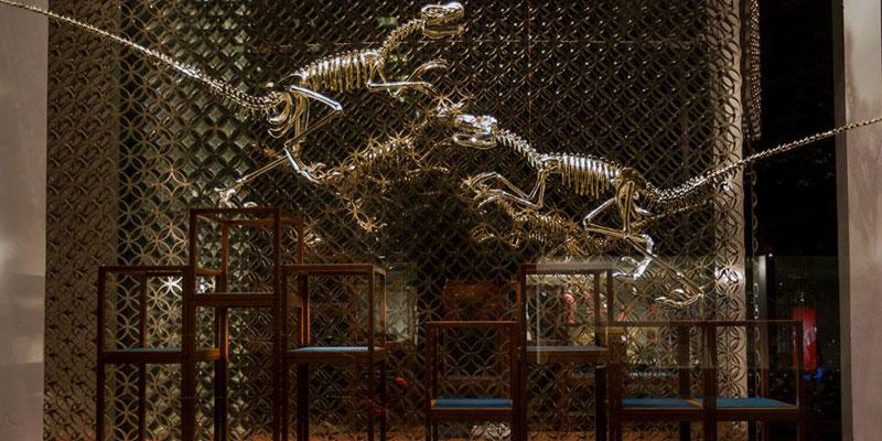 louis vuitton gilded dinosaurs highsnobiety. Black Bedroom Furniture Sets. Home Design Ideas