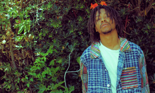Lupe Fiasco Models the U.S. Alteration Summer 2013 Collection