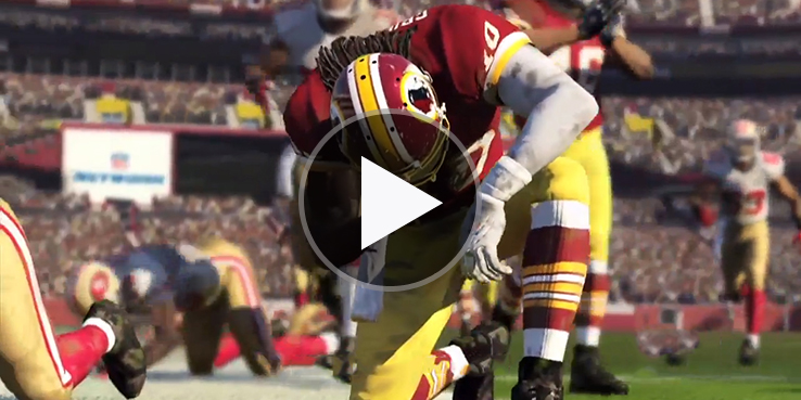 watch the gameplay trailer for madden 25 for xbox one