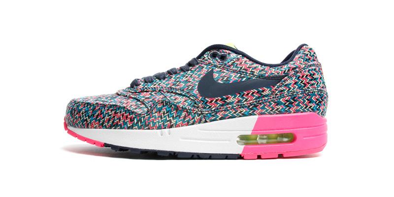 "nike air force femme - Nike Air Max 1 SP ""Zic-Zac Print"" Sneaker Pack - Highsnobiety"