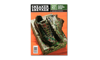 "Nike Air Max ""Country Camo"" Pack on Sneaker Freaker Issue 27 Cover"