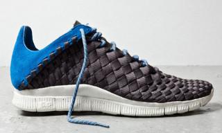 Nike Free Inneva Woven Newsprint/Blue