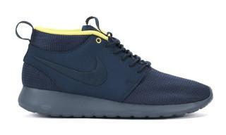 "Nike Roshe Run Mid ""Black"" and ""Armory Navy"""