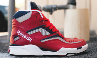 Reebok Twilight Zone Pump Red/White/Blue
