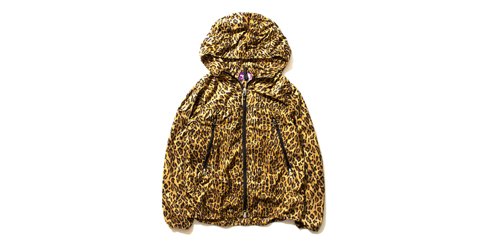 north face leopardo