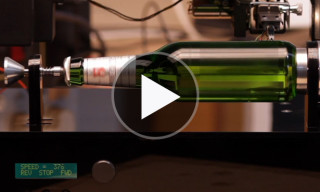 The World's First Playable Beer Bottle