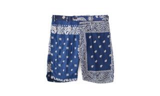 visvim Vintage Bandana Patchwork Shorts