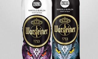 IWISHUSUN x Marcelo Burlon x WARSTEINER Limited Edition Bottles