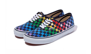 XLarge x Vans Authentic Checkerboard Tie-Dye