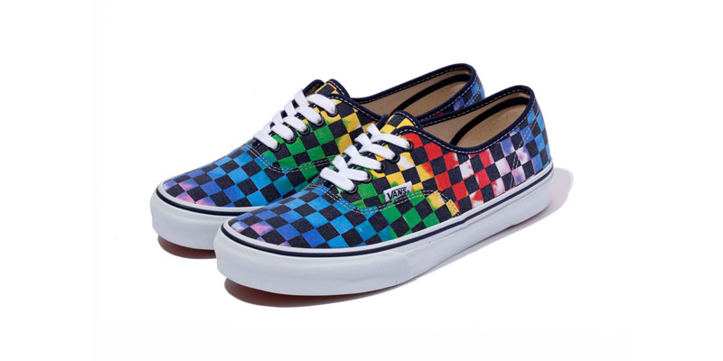 Xlarge Vans Authentic Checkerboard Tie Dye Highsnobiety