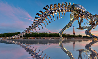 A Life-Size T-Rex in Paris by Philippe Pasqua