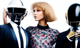 Daft Punk and Karlie Kloss for Vogue U.S. by Craig McDean