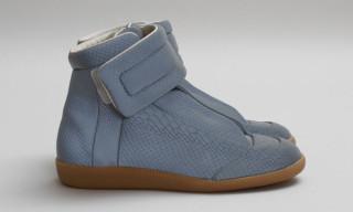 Maison Martin Margiela High-Top Reflective Sneaker