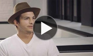 Ashton Kutcher Discusses Technology, Portraying Steve Jobs and Much More