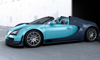 "Bugatti Reveals the First of Six ""Legendary"" Special Edition Veyron"