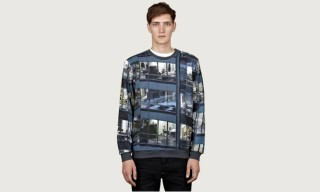 Carven x Michael Wolf All-Over Office Print T-Shirt and Sweatshirt