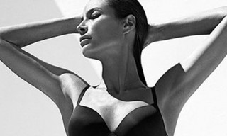 Christy Turlington for Calvin Klein Underwear Fall/Winter 2013 Campaign